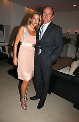 INDIA HICKS and DAVID FLINT WOOD at a party to celebrate the launch of India Hick's 'Island Living' range of frangrance and beauty products in association with Crabtree & Evelyn held at The Hempel, Craven Hill Gardens, London on 22nd November 2006.<br /><br />NON EXCLUSIVE - WORLD RIGHTS