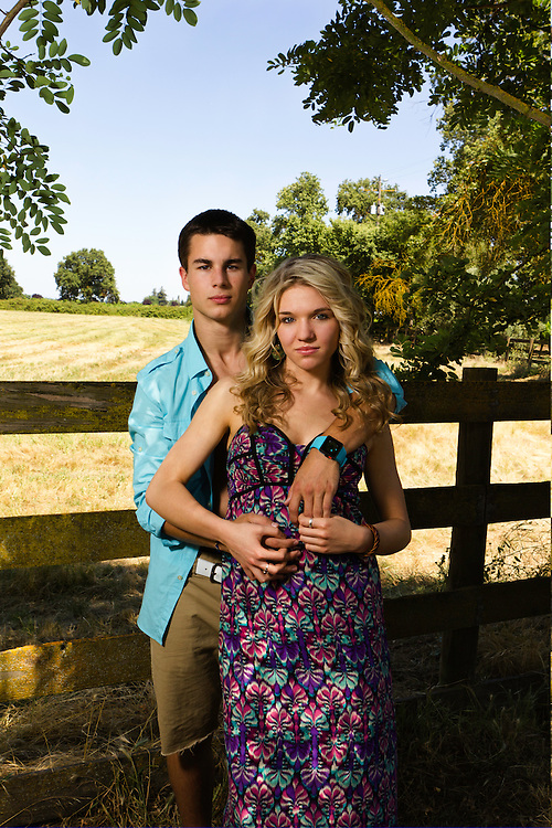 Mason Lawley and Ashley Gotelli outdoor portrait