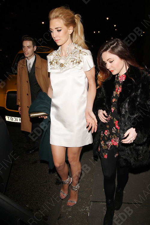 20.MARCH.2013. LONDON<br /> <br /> VANESSA KIRBY ATTENDS DAVID BOWIE IS - PRIVATE VIEW AT THE V&amp;A MUSEUM.<br /> <br /> BYLINE: EDBIMAGEARCHIVE.CO.UK<br /> <br /> *THIS IMAGE IS STRICTLY FOR UK NEWSPAPERS AND MAGAZINES ONLY*<br /> *FOR WORLD WIDE SALES AND WEB USE PLEASE CONTACT EDBIMAGEARCHIVE - 0208 954 5968*