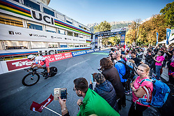 SIVAKOV Pavel of Russia during the Men Elite Individual Time Trial a 52.5km race from Rattenberg to Innsbruck 582m at the 91st UCI Road World Championships 2018 / ITT / RWC / on September 26, 2018 in Innsbruck , Austria.Photo by Vid Ponikvar / Sportida