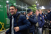 28012013 - Slovenian handball team greeted on return from World Championship