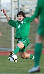 Etien Velikonja (11)  of Slovenia during Friendly match between U-21 National teams of Slovenia and Romania, on February 11, 2009, in Nova Gorica, Slovenia. (Photo by Vid Ponikvar / Sportida)