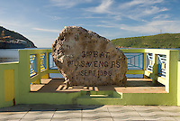 Monument for the U.S. Military's entrance to the island in 1898.
