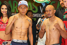 June 3, 2016: Francisco Vargas vs Orlando Salido Weigh-In