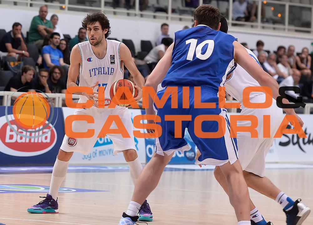 DESCRIZIONE : Trento Nazionale Italia Uomini Trentino Basket Cup Italia Repubblica Ceca Italy Czech Republic<br /> GIOCATORE : Davide Pascolo<br /> CATEGORIA : tecnica<br /> SQUADRA : Italia Italy<br /> EVENTO : Trentino Basket Cup<br /> GARA : Trentino Basket Cup Italia Repubblica Ceca Italy Czech Republic<br /> DATA : 17/06/2016<br /> SPORT : Pallacanestro<br /> AUTORE : Agenzia Ciamillo-Castoria/R.Morgano<br /> Galleria : FIP Nazionali 2016<br /> Fotonotizia : Trento Nazionale Italia Uomini Trentino Basket Cup Italia Repubblica Ceca Italy Czech Republic