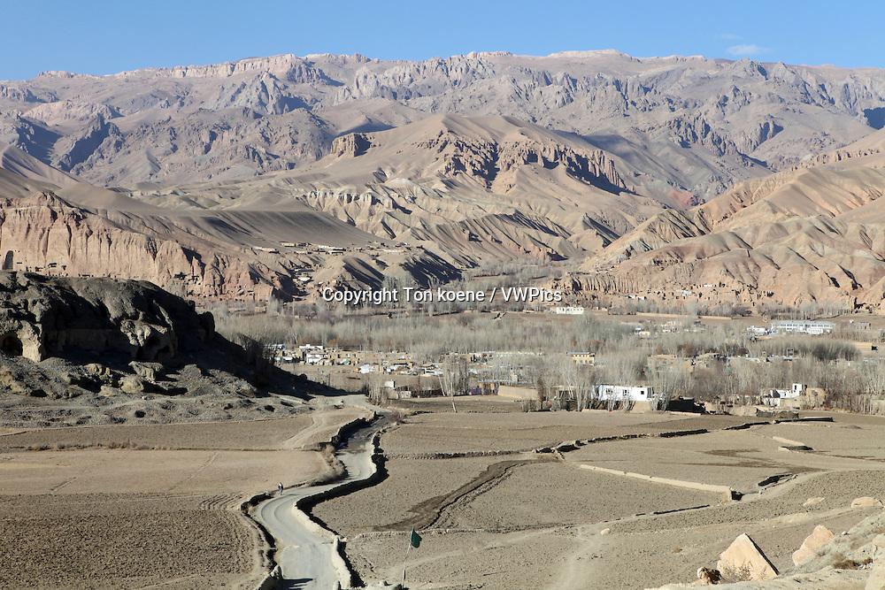 view around Bamyan city, Afghanistan