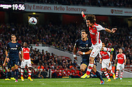 Tomas Rosicky of Arsenal heads towards the Southampton goal during the Capital One Cup match at the Emirates Stadium, London<br /> Picture by David Horn/Focus Images Ltd +44 7545 970036<br /> 23/09/2014
