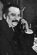 Gaston Doumergue (1863-1937).  French statesman and first Protestant president of the French Republic (1924-31).