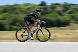 Julie Leth speeds by on Stage 5 of the Giro Rosa - a 12.7 km individual time trial, starting and finishing in Sant'Elpido A Mare on July 4, 2017, in Fermo, Italy. (Photo by Sean Robinson/Velofocus.com)