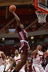 08 February 2018:  Kavion Pippen during a College mens basketball game between the Southern Illinois Salukis and Illinois State Redbirds in Redbird Arena, Normal IL