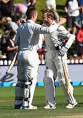 Wellington-Cricket, New Zealand v Bangladesh, 1st test, Day 5