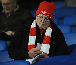 Bristol City fan - Mandatory byline: Dougie Allward/JMP - 07966 386802 - 20/10/2015 - FOOTBALL - American Express Community Stadium - Brighton, England - Brighton v Bristol City - Sky Bet Championship