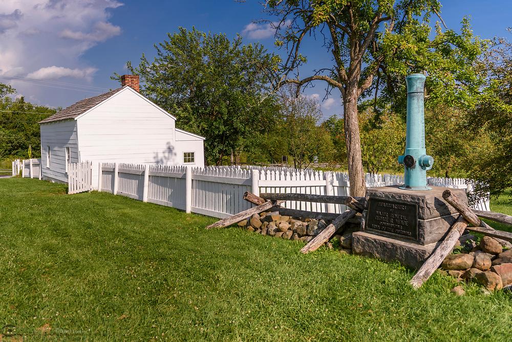 Maj. General George Meade's headquartes, Gettysburg National Military Park, Pennsylvania, USA.
