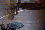 pallone, canestro<br /> Dinamica Generale Mantova - Grissin Bon Pallacanestro Reggio Emilia<br /> Lega Basket Serie A 2016/2017<br /> Mantova, 20/09/2016<br /> Foto Ciamillo-Castoria