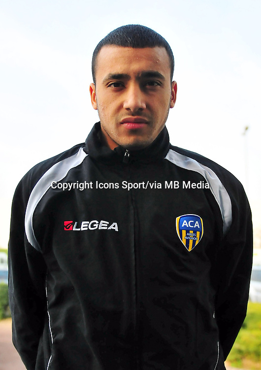 Brahim BEN DAOUD - 22.11.2013 - Photo officielle Arles Avignon - Ligue 2<br /> Photo : Icon Sport
