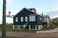 Historic York Lodge on the Delta Marsh in Manitoba, Canada