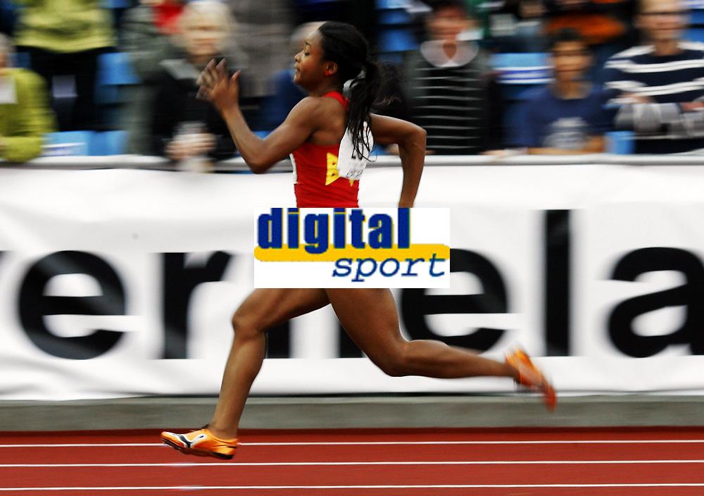 Friidrett, , 20. august  2010 , NM senior , hovedmesterskapet <br /> <br /> Ezinne Okparaebo , BUL  , vant 100 m