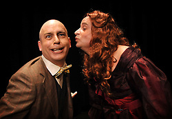 """Bag & Baggage's production of """"The Mystery of Irma Vep"""".  Photos taken March 26, 2011. (photo by Casey Campbell)"""
