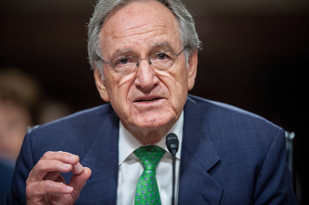Senate Health, Education, Labor and Pensions Chairman TOM HARKIN (D-IA) testifies before a Senate Foreign Relations Committee hearing on the United Nation's Convention on the Rights of Persons with Disabilities.