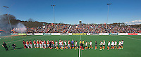 BLOEMENDAAL - Euro Hockey League 2015 . overzicht Halve finale tussen Bloemendaal en Oranje Zwart. COPYRIGHT KOEN SUYK