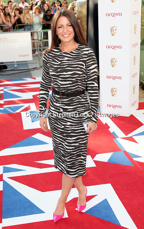 Davina McCall  arriving at the British Academy Television Awards in London, Sunday , 27th May 2012.  Photo by: Stephen Lock / i-Images