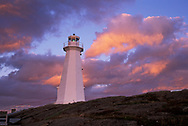 Lighthouse, Cape Spear National History Site, Newfoundland, Canada