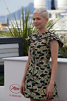 Actress Michelle Williams at the Wonderstruck film photo call at the 70th Cannes Film Festival Thursday 18 May 2017, Cannes, France. Photo credit: Doreen Kennedy