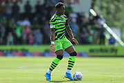 Forest Green Rovers Udoka Godwin-Malife(22) during the EFL Sky Bet League 2 match between Forest Green Rovers and Grimsby Town FC at the New Lawn, Forest Green, United Kingdom on 17 August 2019.