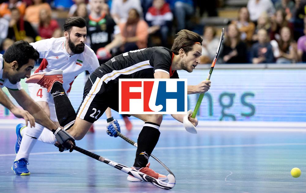 BERLIN - Indoor Hockey World Cup<br /> Semi-final 1: Germany - Iran<br /> foto: Marco Miltkau.<br /> WORLDSPORTPICS COPYRIGHT FRANK UIJLENBROEK