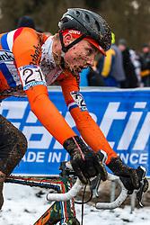 Mathieu van der Poel (NED), Men Elite, Cyclo-cross World Championship Tabor, Czech Republic, 1 February 2015, Photo by Pim Nijland / PelotonPhotos.com