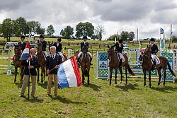 Team Netherlands, <br /> European Championship Eventing Landelijke Ruiters - Tongeren 2017<br /> © Hippo Foto - Kris Van Steen<br /> 30/07/2017