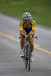 Jorge Martinez (CAI) during stage 1 of the Tour of Virginia.  The Tour of Virginia began with a 4.7 mile individual time trial near Natural Bridge, VA on April 24, 2007. Formerly known as the Tour of Shenandoah, the ToV has gained National Race Calendar (NRC) status for the first time in its five year history.