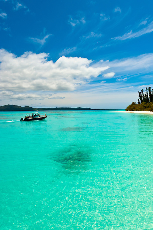 Brush Island, New Caledonia Barrier Reef off Ile des Pins (Isle of Pines), New Caledonia