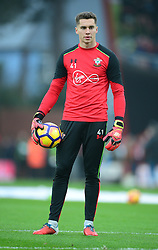 Harry Lewis of Southampton - Mandatory by-line: Alex James/JMP - 18/12/2016 - FOOTBALL - Vitality Stadium - Bournemouth, England - Bournemouth v Southampton - Premier League