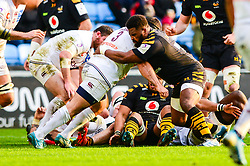 Simon McIntyre of Wasps - Mandatory by-line: Dougie Allward/JMP - 18/01/2020 - RUGBY - Ricoh Arena - Coventry, England - Wasps v Bordeaux-Begles - European Rugby Challenge Cup