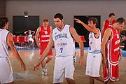 DESCRIZIONE : Bormio Torneo Internazionale Maschile Diego Gianatti Italia Polonia <br /> GIOCATORE : Matteo Soragna <br /> SQUADRA : Nazionale Italia Uomini Italy <br /> EVENTO : Raduno Collegiale Nazionale Maschile <br /> GARA : Italia Polonia Italy Poland <br /> DATA : 31/07/2008 <br /> CATEGORIA : Esultanza <br /> SPORT : Pallacanestro <br /> AUTORE : Agenzia Ciamillo-Castoria/S.Silvestri <br /> Galleria : Fip Nazionali 2008 <br /> Fotonotizia : Bormio Torneo Internazionale Maschile Diego Gianatti Italia Polonia <br /> Predefinita :