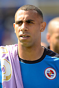 Anton Ferdinand during the Sky Bet Championship match between Birmingham City and Reading at St Andrews, Birmingham, England on 8 August 2015. Photo by Alan Franklin.
