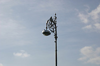 Street lamp in Dublin Ireland
