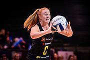Samantha Sinclair of the Magic during the ANZ Premiership Netball match, Tactix V Magic, Horncastle Arena, Christchurch, New Zealand, 6th June 2018.Copyright photo: John Davidson / www.photosport.nz