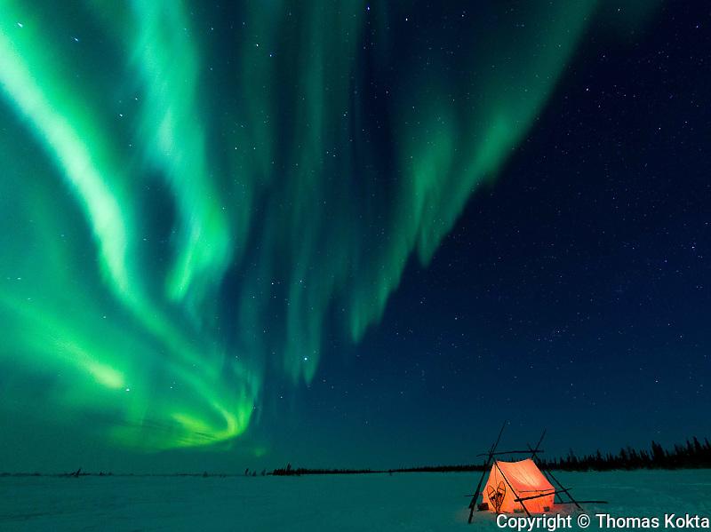 Land, Sea, Sky, Aurora