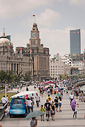 The Bund promenade Shanghai, China