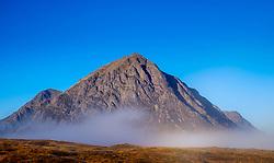 Early morning sunlight strikes the face of Buachaille Etive Mòr, Rannoch Moor, highlands of Scotland<br /> <br /> (c) Andrew Wilson | Edinburgh Elite media