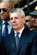 Roma 8 Settembre 2012.Commemorazione della resistenza  dell'8 settembre 1943 a Porta San Paolo a Roma..Il Ministro della Difesa, Ammiraglio Giampaolo Di Paola