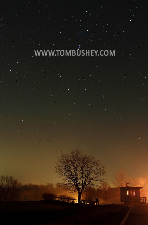 Hamptonburgh, N.Y. - The constellation Orion is visible on the night of Dec. 13, 2006.