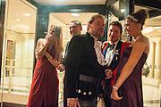 JULIETTE JOHNSTONE; MICHAEL TUDORANCEA; LORD DALMENY; MATTHEW TRAVERS; CELINA D'ABO, The Royal Caledonian Ball 2013. The Great Room, Grosvenor House. Park lane. London. 3 May 2013.