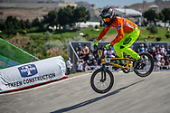 14 Boys #111 (MIK Jason) NED at the 2018 UCI BMX World Championships in Baku, Azerbaijan.
