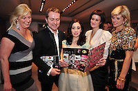 Maree McNamara, Masterplan Marketing, Paul Griffin, Zenith Hairdressing, Georgina Vahey  freeelance fashion consultant  Lola Donoghue and Majella Kelly Fotissima at the launch of the Ladies Gaelic Football Calendar at the G Hotel Galway. The calendar retails at EUR5 and all proceeds from the calendar will go directly to Breast Cancer Ireland.Photo:Andrew Downes. Photo issued with compliments, no reproduction fee.