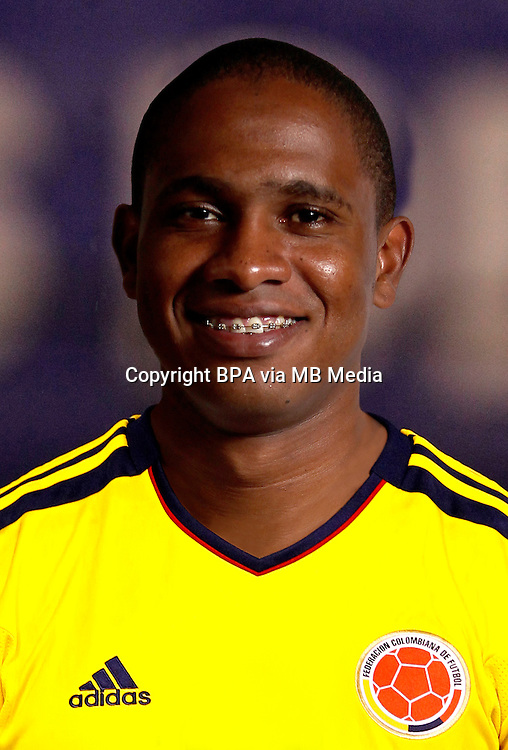Football Fifa Brazil 2014 World Cup / <br /> Colombia National Team -<br /> Edwin Valencia of Colombia
