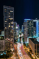 Brickell area of downtown Miami.