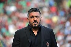 AC Milan v Chievo Verona - 07 October 2018